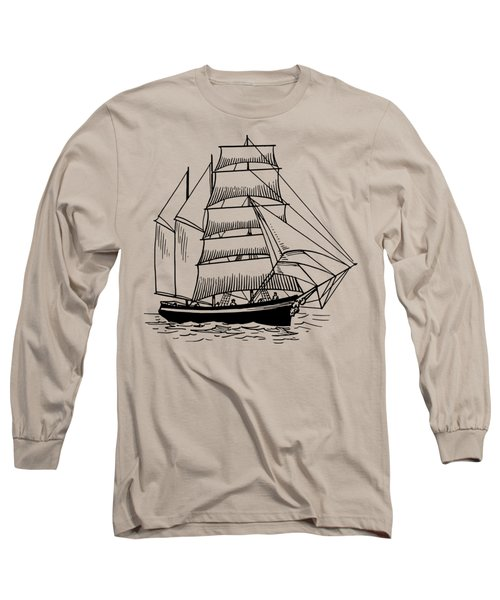 Barquentine Long Sleeve T-Shirt