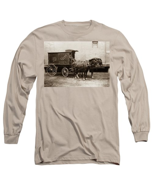 Bartel's Brewery Edwardsville Pennsylvania... Long Sleeve T-Shirt