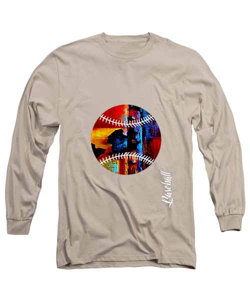 Baseball Collection Long Sleeve T-Shirt by Marvin Blaine