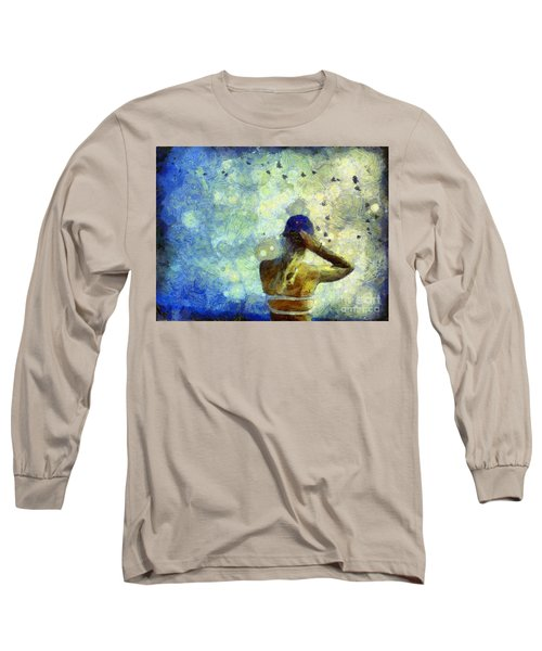 Baseball Fan Long Sleeve T-Shirt