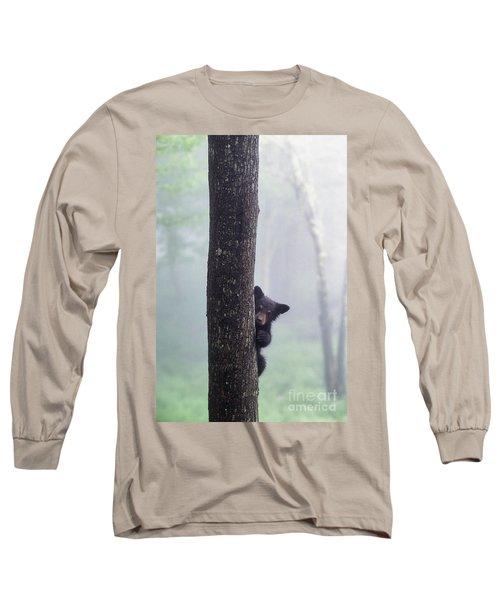 Bashful Bear Cub - Fs000230 Long Sleeve T-Shirt