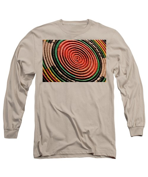 Basketry Color Long Sleeve T-Shirt