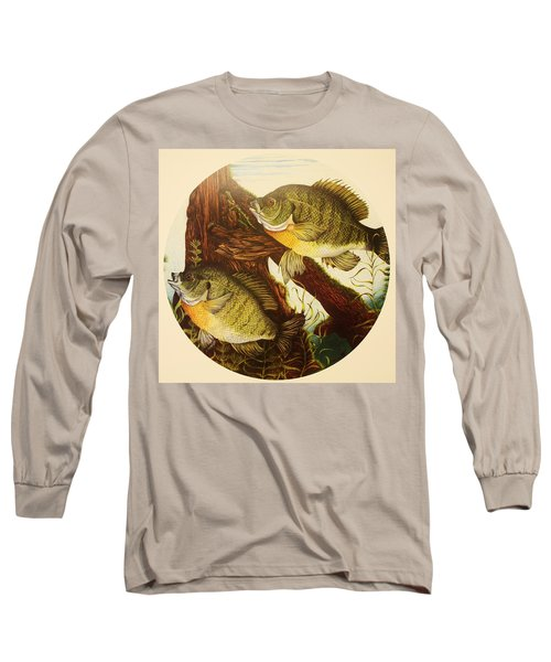 Basking Bluegills Long Sleeve T-Shirt by Bruce Bley
