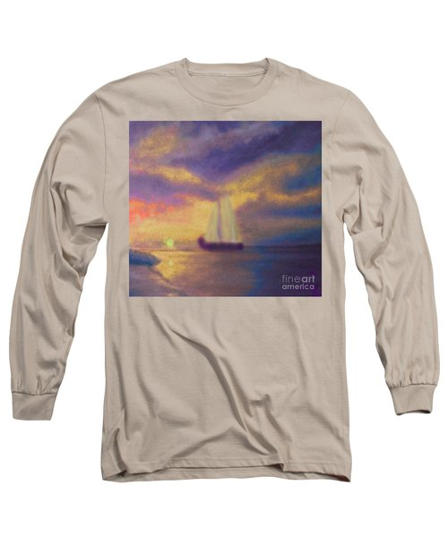 Basking In The Sun Long Sleeve T-Shirt by Holly Martinson