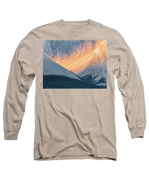 Bathed In Light Long Sleeve T-Shirt by Carl Amoth