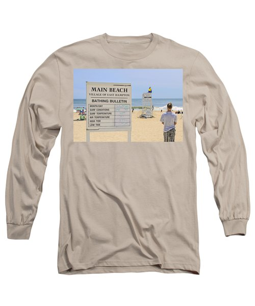 Bathing Bulletin Long Sleeve T-Shirt