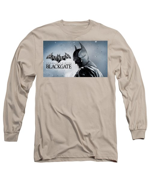 Batman Arkham Origins Blackgate Long Sleeve T-Shirt