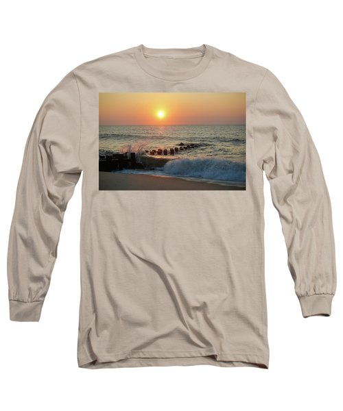 Bay Head Beach Sunrise 1 Long Sleeve T-Shirt