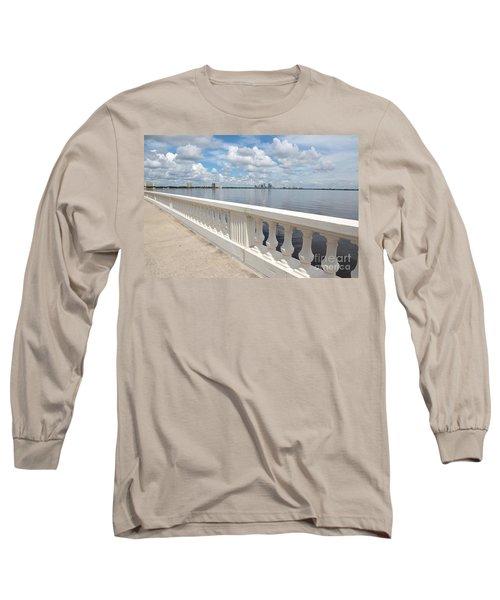 Bayshore Boulevard Balustrade Long Sleeve T-Shirt