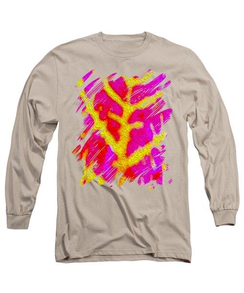 Bazaar Leaf Art Long Sleeve T-Shirt