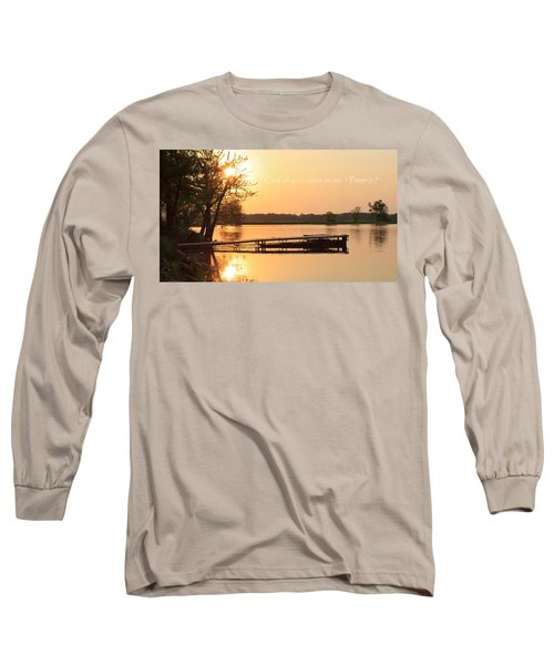 Be At Peace Long Sleeve T-Shirt