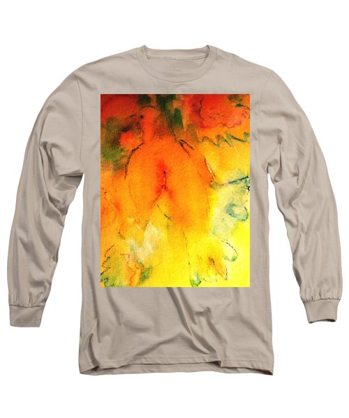 Long Sleeve T-Shirt featuring the painting Be Harmless As Doves by Hazel Holland