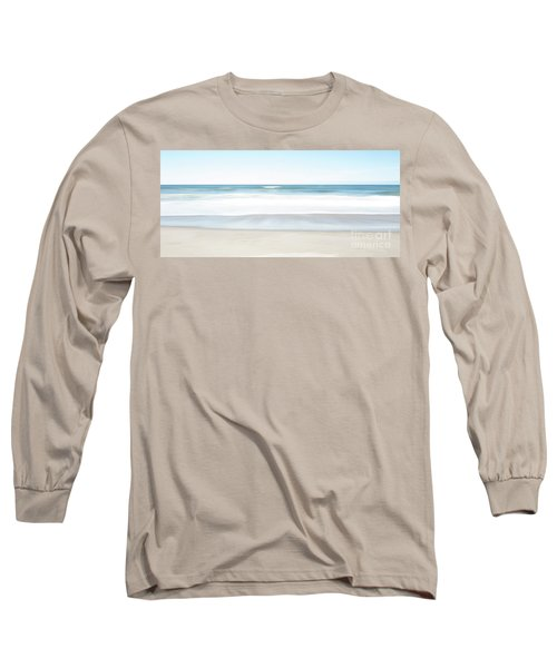 Beach Abstract Long Sleeve T-Shirt