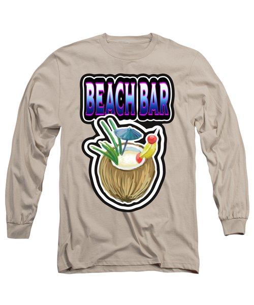Beach Bar Long Sleeve T-Shirt
