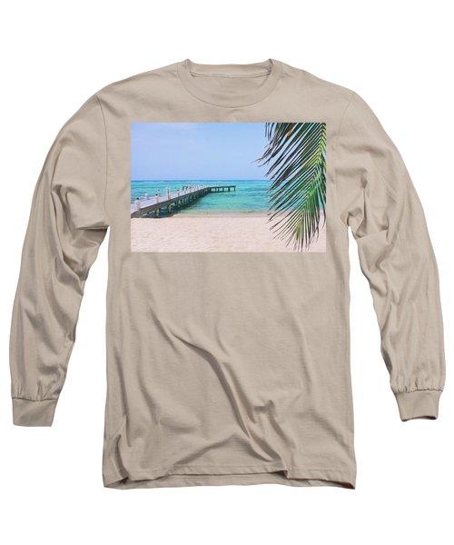 Beach Dreams Long Sleeve T-Shirt by Iryna Goodall