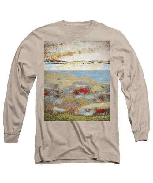 Beach Dunes Long Sleeve T-Shirt by William Wyckoff
