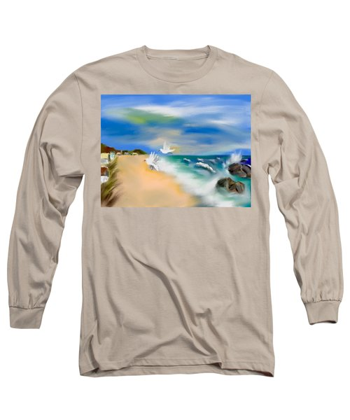 Beach Energy Long Sleeve T-Shirt