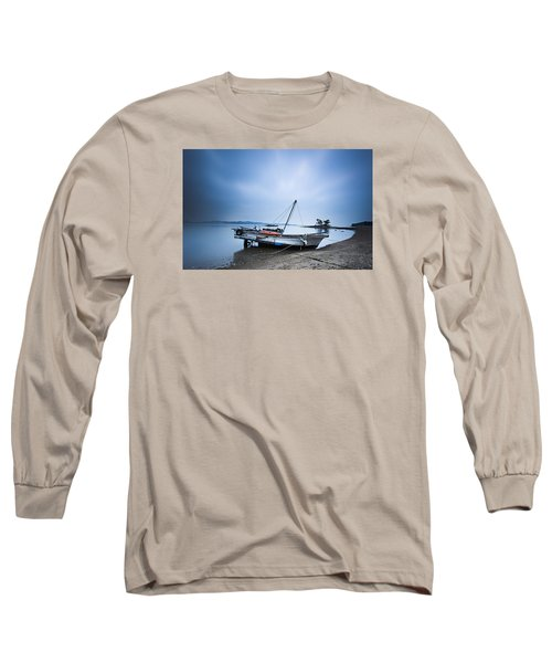 Beach Fishing Boat Long Sleeve T-Shirt