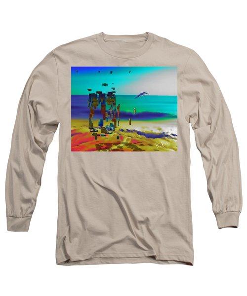 Beach Geometry  Long Sleeve T-Shirt