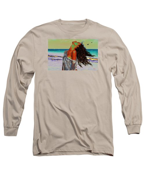 Beach Girl 1 Long Sleeve T-Shirt