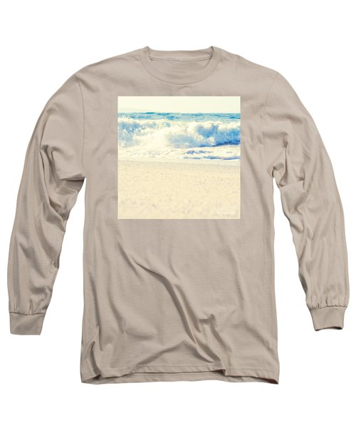 Long Sleeve T-Shirt featuring the photograph Beach Gold by Sharon Mau