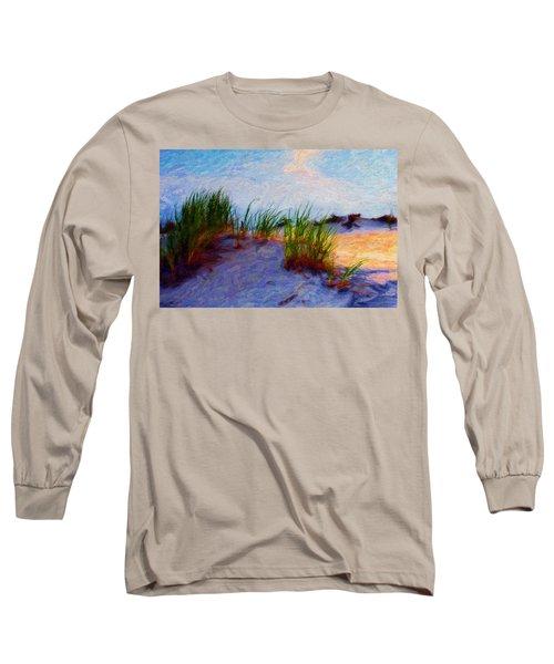 Beach Grass Long Sleeve T-Shirt
