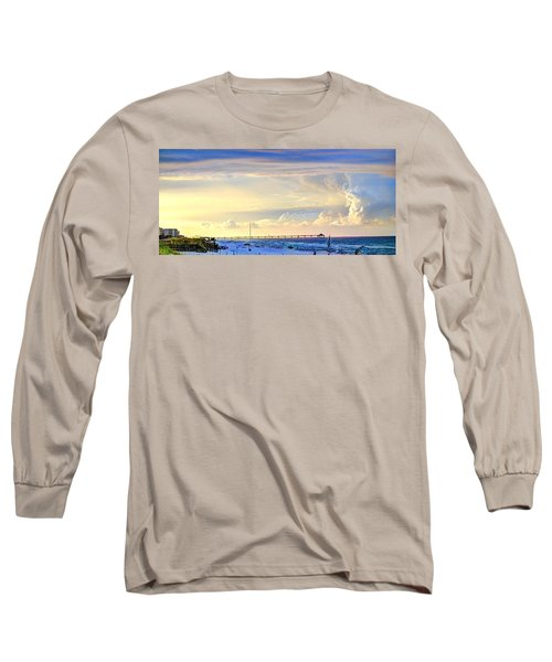 Beach House Window Long Sleeve T-Shirt