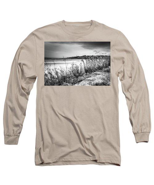 Beach In Ogunquit Long Sleeve T-Shirt