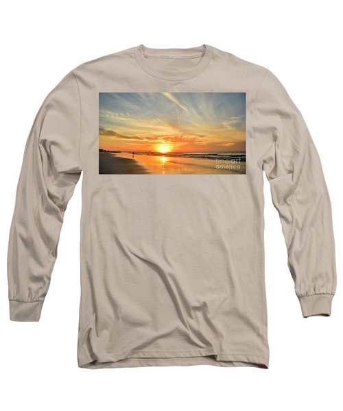 Beach Of Gold Long Sleeve T-Shirt