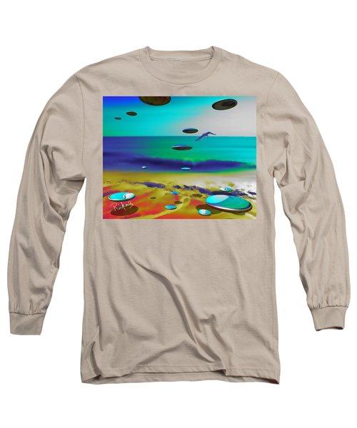 Beach Orbs Long Sleeve T-Shirt