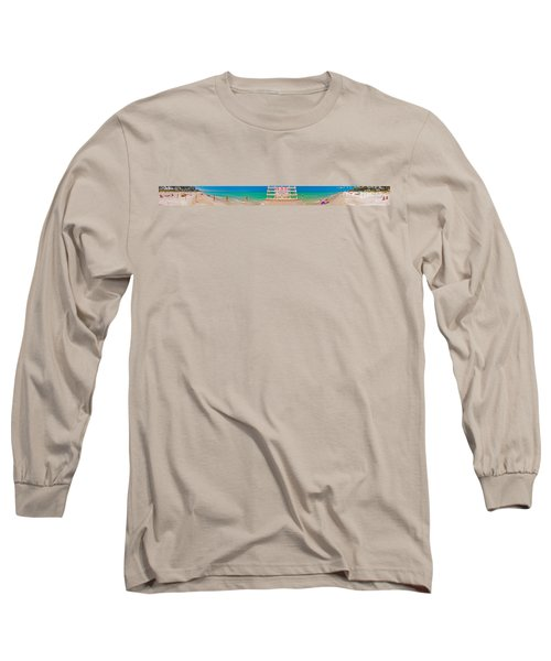 Beach Panorama Long Sleeve T-Shirt