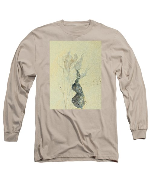 Beach Sand 3 Long Sleeve T-Shirt by Marcia Lee Jones