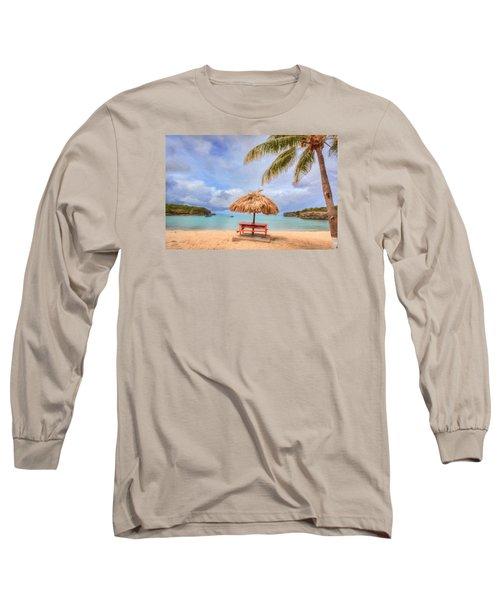 Beach Time Long Sleeve T-Shirt by Nadia Sanowar