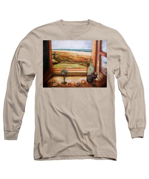 Beach Window Long Sleeve T-Shirt