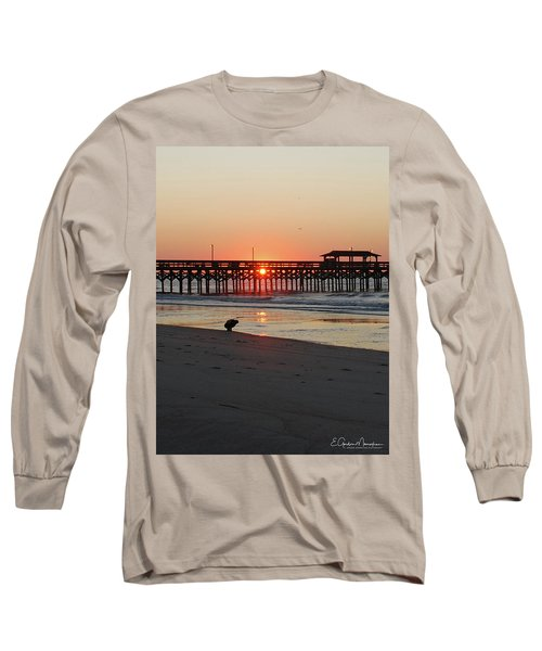Beachcomber Long Sleeve T-Shirt by Gordon Mooneyhan