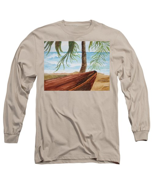 Beached Boat Long Sleeve T-Shirt