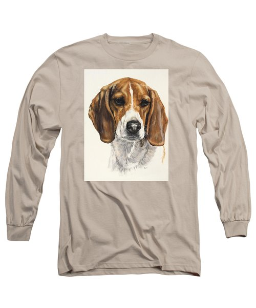 Beagle Long Sleeve T-Shirt by Barbara Keith