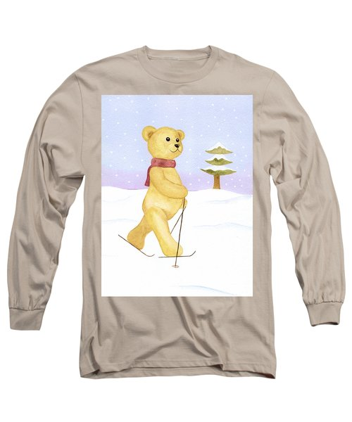 Bear Long Sleeve T-Shirt by Elizabeth Lock