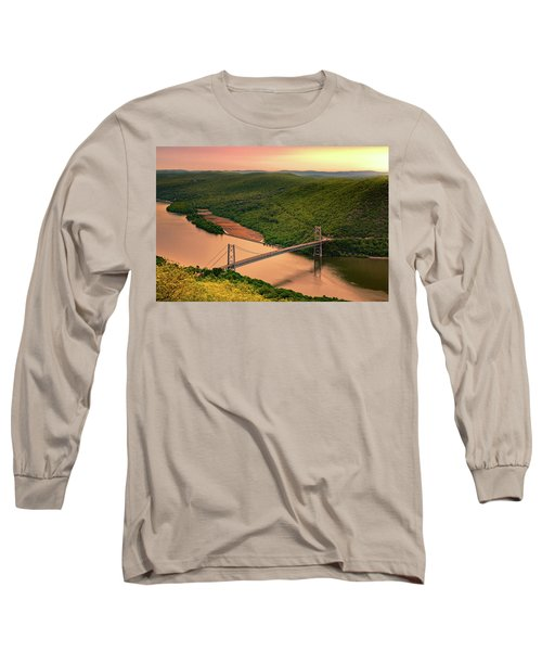 Bear Mountain Bridge Long Sleeve T-Shirt