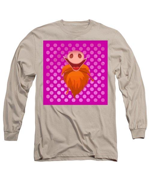 Bearded Snout Long Sleeve T-Shirt
