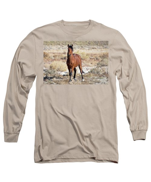 Long Sleeve T-Shirt featuring the photograph Beautiful Bay by Lula Adams