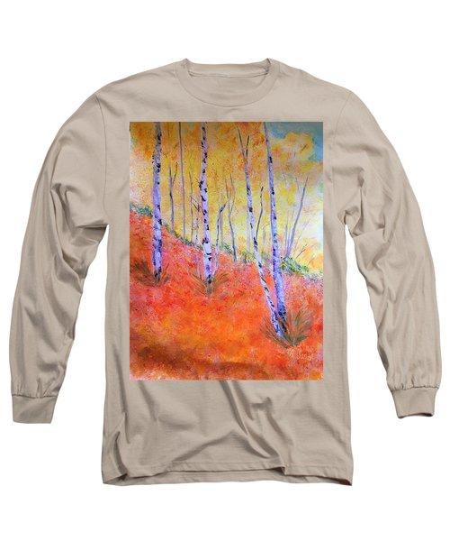 Beautiful Birches Long Sleeve T-Shirt