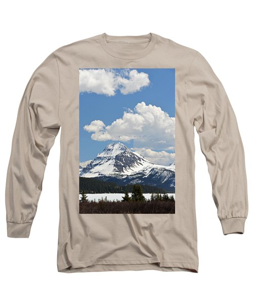 Beautiful Bow Lake Long Sleeve T-Shirt