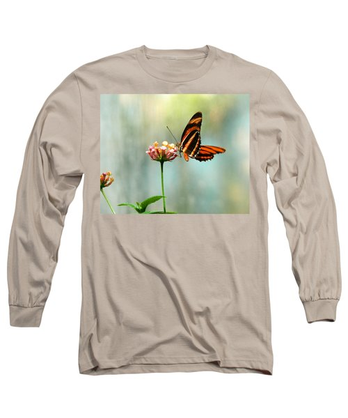 Beautiful Butterfly Long Sleeve T-Shirt by Laurel Powell
