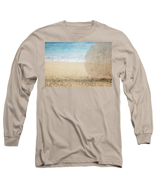 Beautiful Coral Element 1 Long Sleeve T-Shirt by Brandon Tabiolo - Printscapes