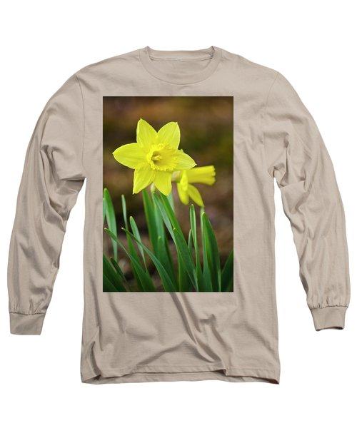 Beautiful Daffodil Flower Long Sleeve T-Shirt