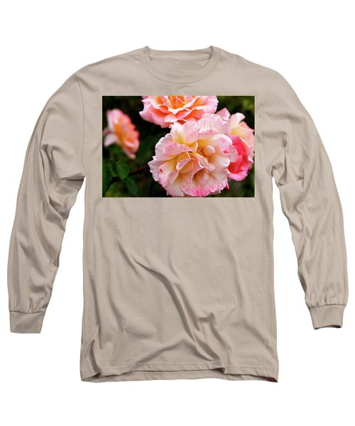 Beautiful Flowers In Cambridge Long Sleeve T-Shirt