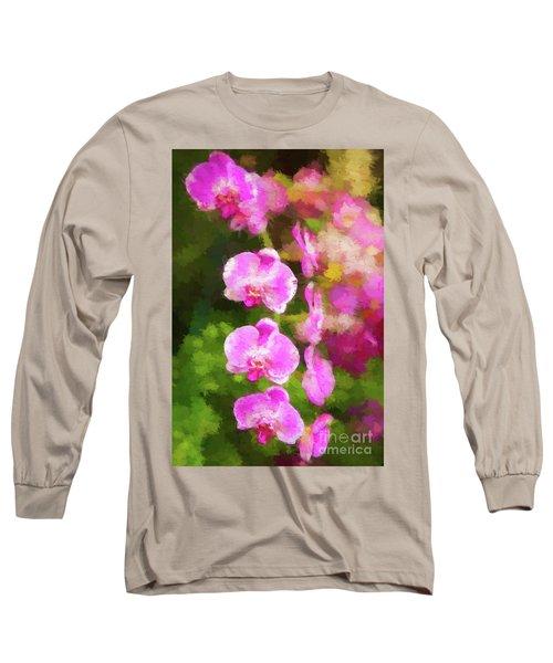 Beautiful Orchids Long Sleeve T-Shirt