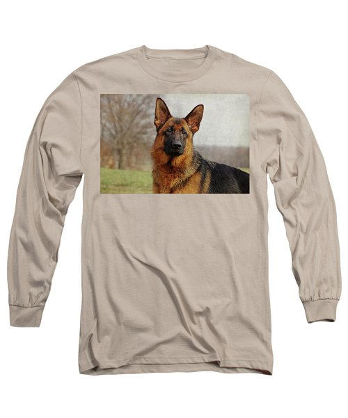 Long Sleeve T-Shirt featuring the photograph Beautiful Raven by Sandy Keeton