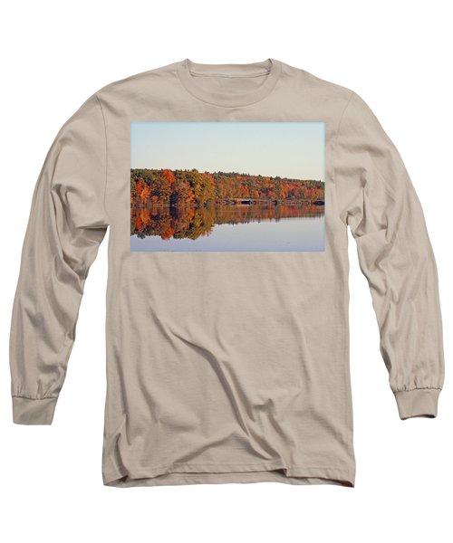 Beautiful Reflections Long Sleeve T-Shirt by Kay Novy